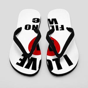 055857994 Filipino Designs Flip Flops - CafePress