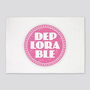 Deplorable - Pink 5'x7'Area Rug