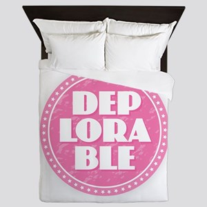 Deplorable - Pink Queen Duvet