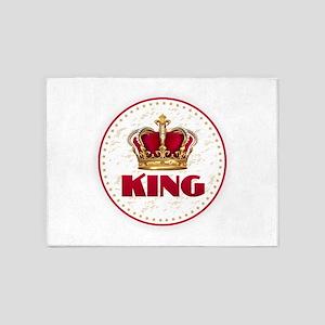 KING 5'x7'Area Rug