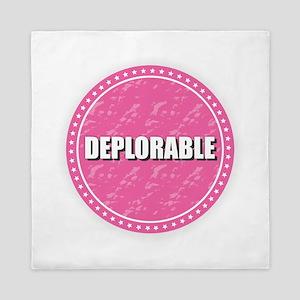 Deplorable - Pink Queen Duvet