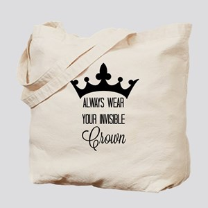 Invisible crown Tote Bag