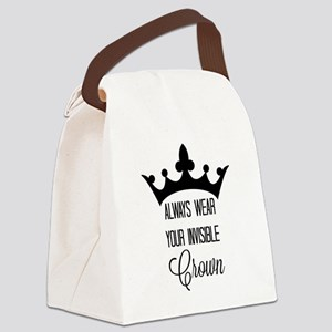 Invisible crown Canvas Lunch Bag