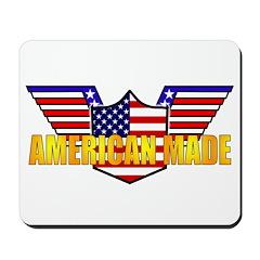 American Made Patriotic Mousepad