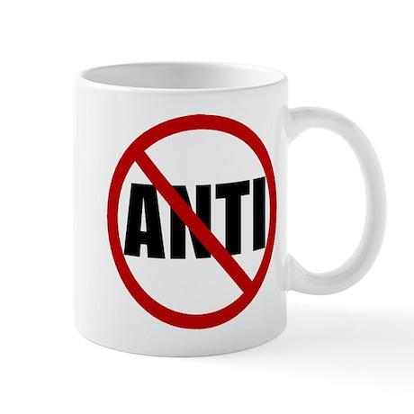 Anti-Anti Coffee Cup