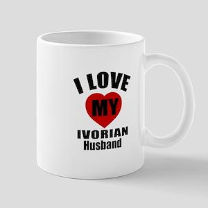 I Love My Ivorian Husband Mug