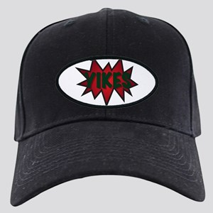 Yikes Spikey Speech Bubble Black Cap