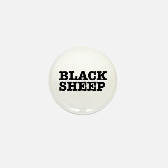 BLACK SHEEP:- Mini Button