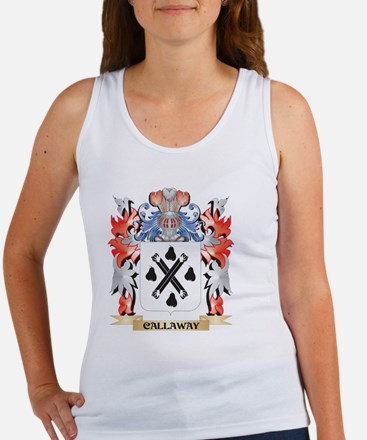 Callaway Coat of Arms - Family Crest Tank Top