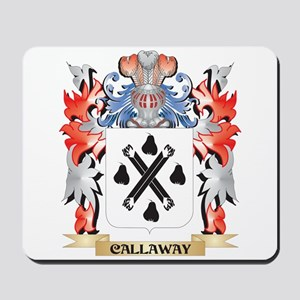 Callaway Coat of Arms - Family Crest Mousepad