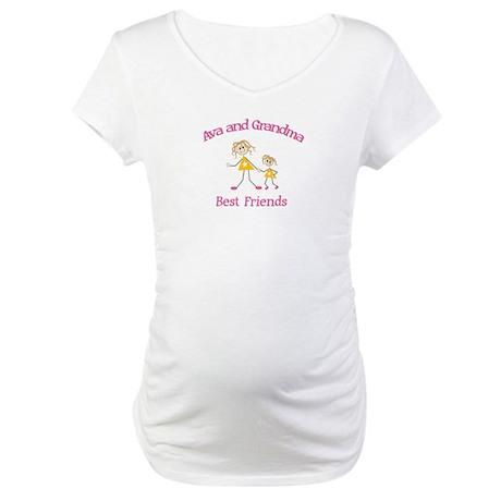 Ava & Grandma - Best Friends Maternity T-Shirt