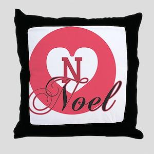 noel Throw Pillow