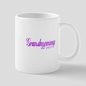GRANDMOMMY EST 2017 Mugs