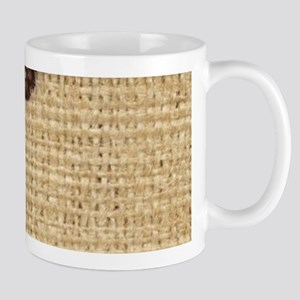 burlap lace primitive western country Mugs