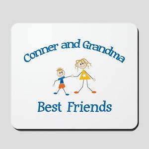 Conner & Grandma - Best Frien Mousepad