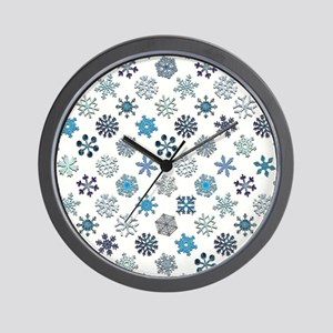 PROUD SNOWFLAKE Wall Clock