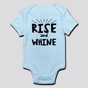 Rise and whine Infant Bodysuit