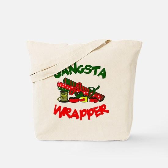 Gangsta Wrapper Tote Bag