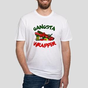Gangsta Wrapper Fitted T-Shirt