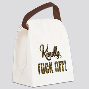 KINDLY... Canvas Lunch Bag