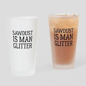 Sawdust Drinking Glass