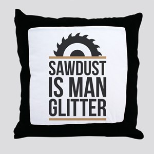 Sawdust Throw Pillow