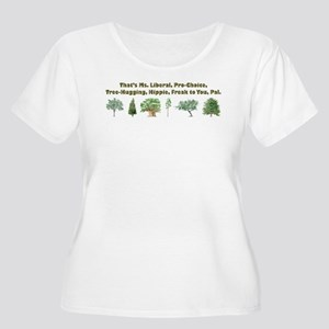 ms liberal Plus Size T-Shirt