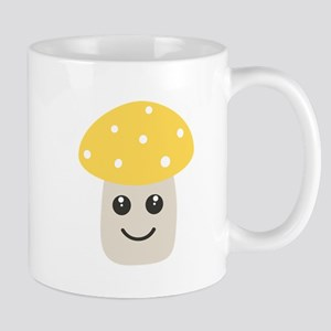 Cute yellow toadstool Mugs