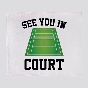 See You In Court Stadium Blanket