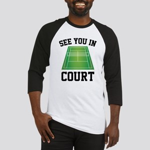 See You In Court Baseball Jersey