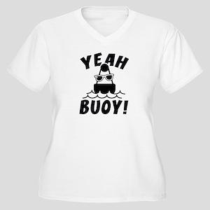 Yeah Buoy! Women's Plus Size V-Neck T-Shirt