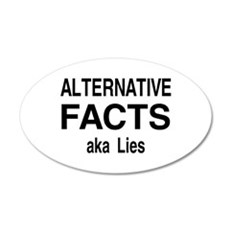 alt facts Wall Decal