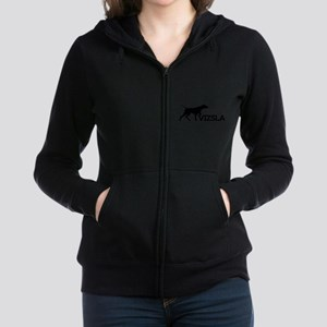 Women's Vizsla Junior Hoodie (silhouette) Sweatshi