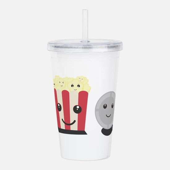 Cinema movie pocorn wi Acrylic Double-wall Tumbler
