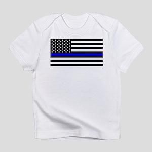 Blue Lives Matter US Flag Police Thin Blue T-Shirt