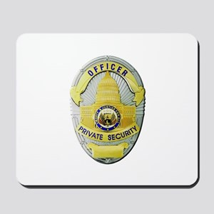 Private Security Mousepad