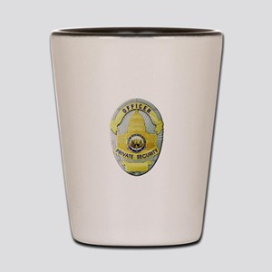 Private Security Shot Glass