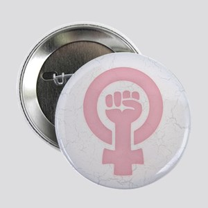 "Feminist Fist 2.25"" Button"