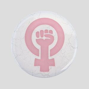 Feminist Fist Button