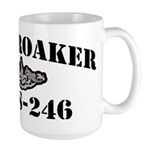 USS CROAKER 15 oz Ceramic Large Mug
