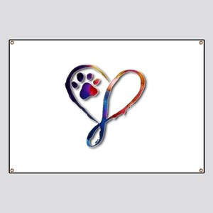 Infinity Paw Banner