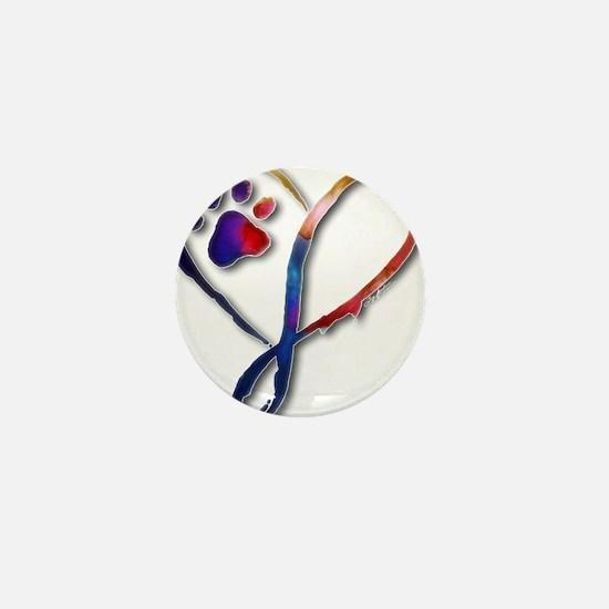 Infinity Paw Mini Button