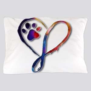 Infinity Paw Pillow Case