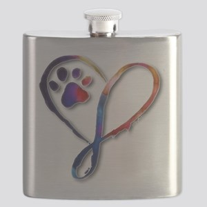 Infinity Paw Flask