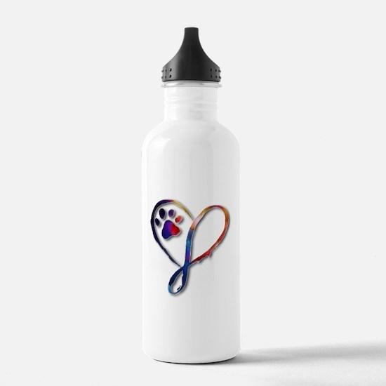 Infinity Paw Water Bottle