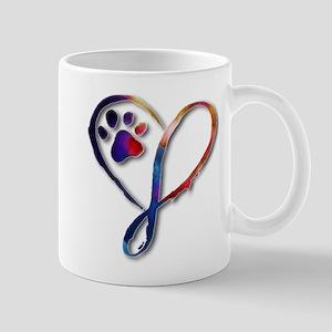 Infinity Paw Mugs