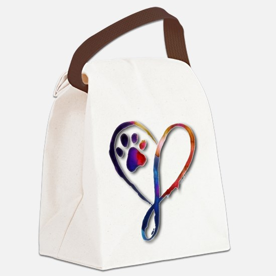 Infinity Paw Canvas Lunch Bag
