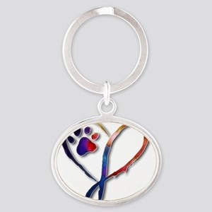 Infinity Paw Keychains
