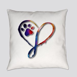 Infinity Paw Everyday Pillow