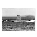 USS CROAKER Postcards (Package of 8)